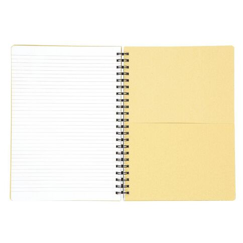 WS Notebook 5 Subject PP Wiro Black A4