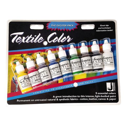 Jacquard Textile Traditional Exciter Pack 9