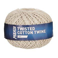 Mako Twisted Cotton Twine 128m