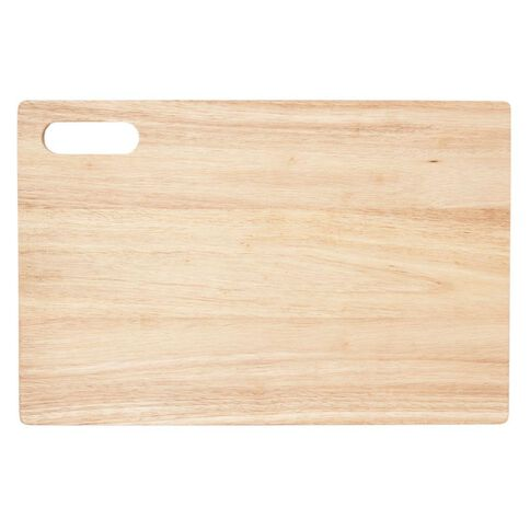 Living & Co Rubber Wood Chopping Board 46cm