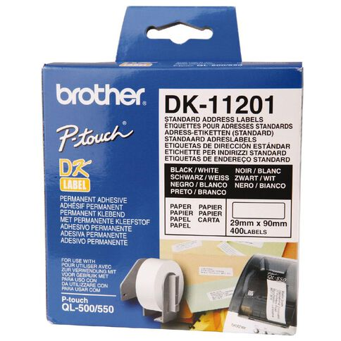 Brother Label Tape Dk11201 29mm x 90mm