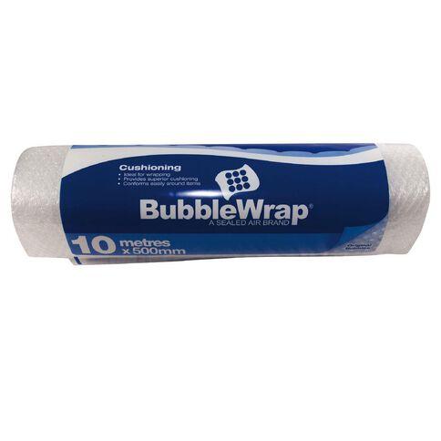 Bubble Wrap 500mm x 10m Clear