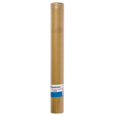 No Brand Brown Paper Roll 15m