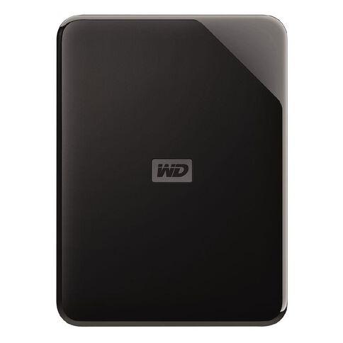Western Digital Elements SE Portable 4TB USB 3.0 External HDD