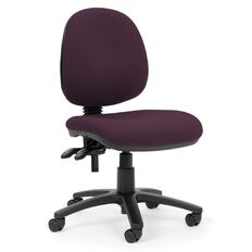 Chairmaster Apex Midback Chair Tawny Port Beige