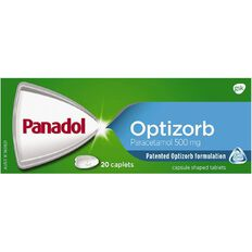 Panadol Optizorb Caplets 20s - LIMIT OF 1 PER CUSTOMER