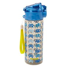 Kookie Gamer Drink Bottle 600ml Blue