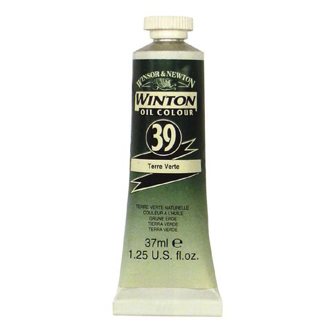 Winsor & Newton Winton Oil Paint 37ml Terre Verte Green