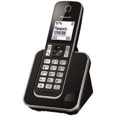 Panasonic KX-TGD310NZB Single Cordless Handset Black Black