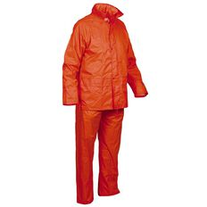Esko Good2Glow Rainsuit Jacket and Pant Set Hi-Vis Orange Large