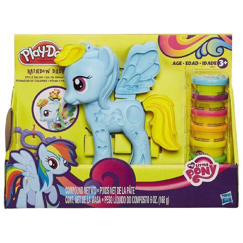 My Little Pony Play-Doh Rainbow Dash Style Salon