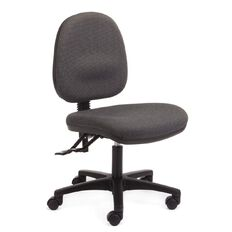 Chair Solutions Aspen Midback Chair Clarity Grey