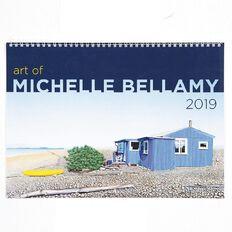 Calendar 2019 Art of Michelle Bellamy Booklet