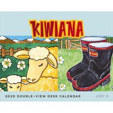 BrownTrout 2020 Kiwiana Desk Easel Calendar