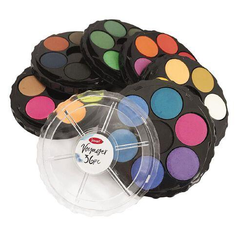 Jasart Voyager Watercolour Discs Set 36