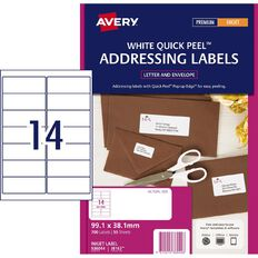 Avery Inkjet Labels J8163-14 Pack 50