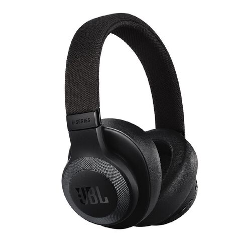 JBL E65 Bluetooth Noise Cancelling Headphone Black