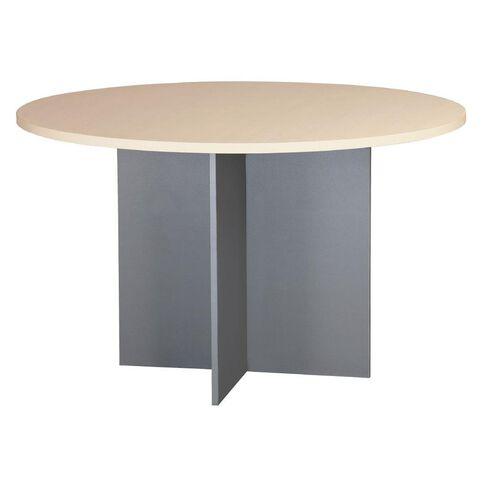 EKO Meeting Table 1200 Nordic Maple/Silver