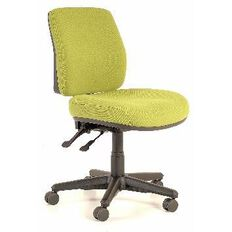 Buro Seating Roma 2 Lever Midback Chair Green