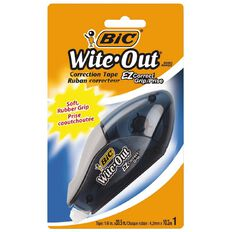 Bic Wite Out Grip Correction Tape White 1 Pack
