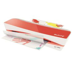 Leitz iLam Laminator Home A4 Red Red
