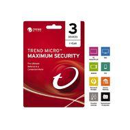 Trend Micro NZTMIS Maximum Security 1-3D 1Y ESD