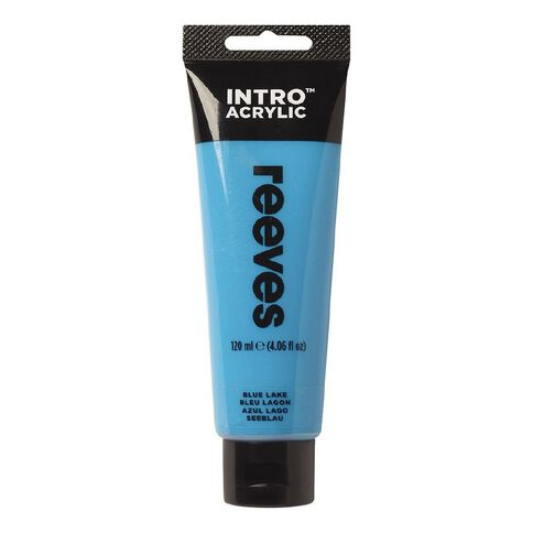 Reeves Intro Acrylic Paint Blue Lake Blue 120ml