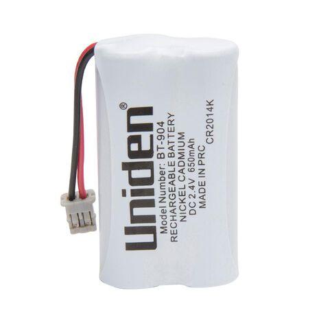 Uniden Cordless Phone Battery BT904 White