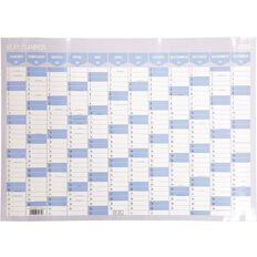 Impact 2020 Year Planner Non - Laminated Card 700mm X 500mm