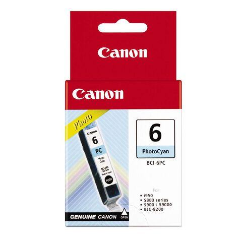 Canon Ink BCI6 Photo Cyan (340 Pages)