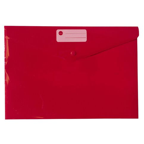 Impact Document Envelope Single Dome Red