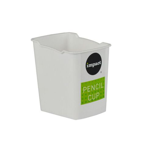 Impact Pencil Cup White