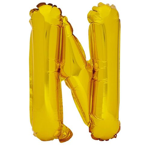 Artwrap Foil Balloon N Gold 35cm