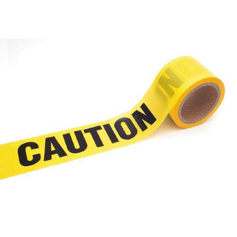 Caution Tape 75mm x 100m