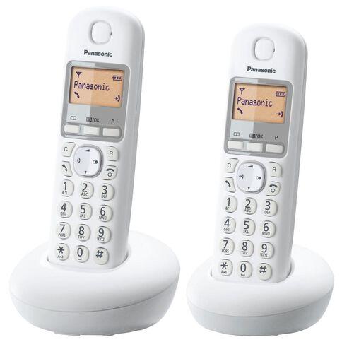 Panasonic Kx-Tgb212Nzw Twin Cordless Phone White