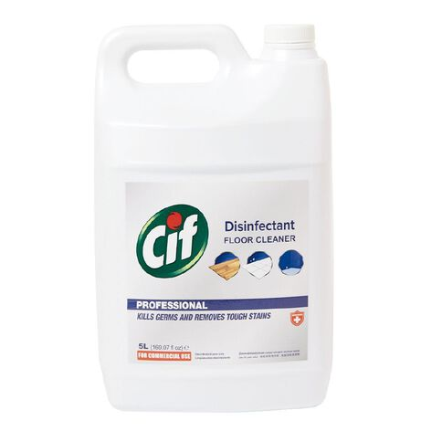 Cif Professional  Floor Cleaner Disinfectant 5L