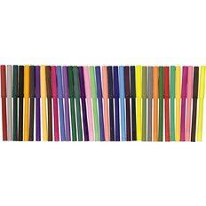 Kookie Felt Pens Multi-Coloured 36 Pack