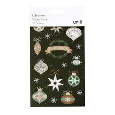 Uniti Christmas Sticker Book 18 Sheets