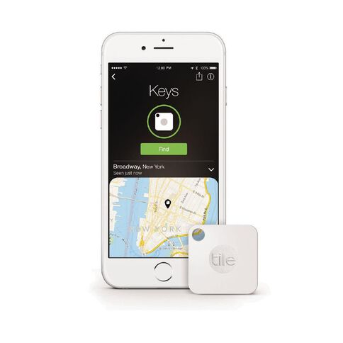 Tile Mate Bluetooth Tracker Four Pack White