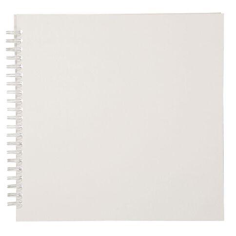 Uniti Spiral Album 12x12 White