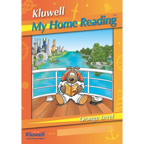 Kluwell My Home Reading Orange Level Senior Orange