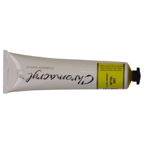 Chromacryl Paint Yellow 75ml