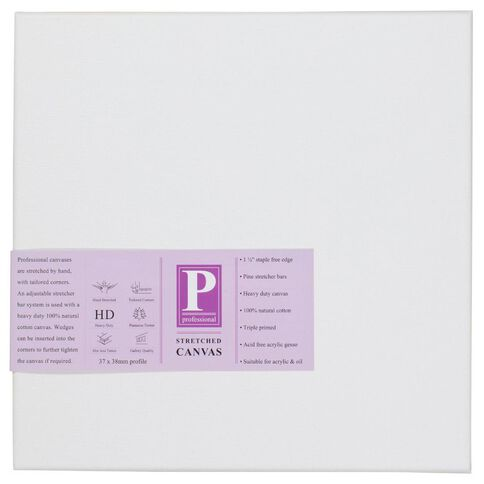 DAS Professional HD Canvas 30 x 30 White