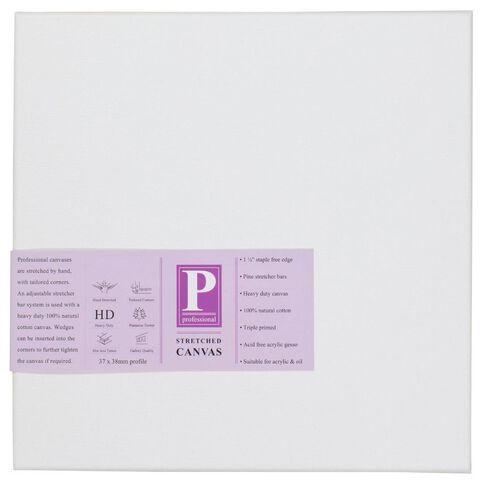 DAS Professional HD Canvas 30 x 30 White