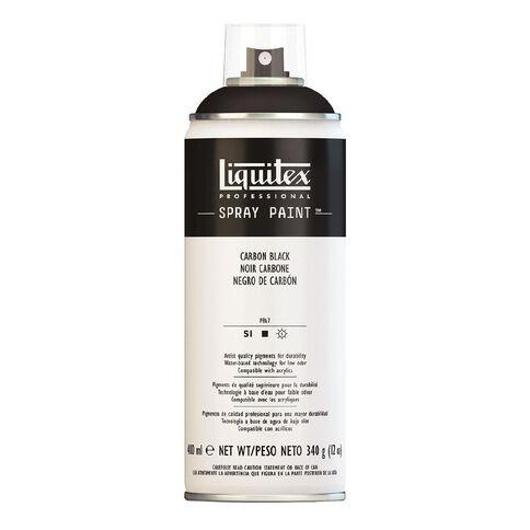 Liquitex Spray 400ml Carbon Black Black