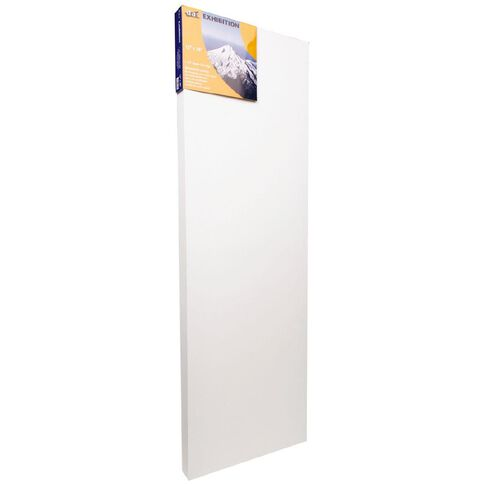 DAS 1.5 Exhibition Canvas 12 x 36in White