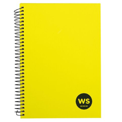 WS Notebook Wiro Yellow A5