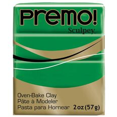 Sculpey Premo Accent Clay 57g Green