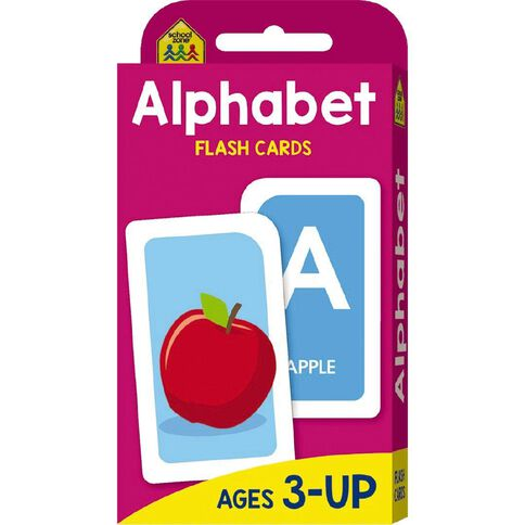 Hinkler School Zone Alphabet Flash Cards