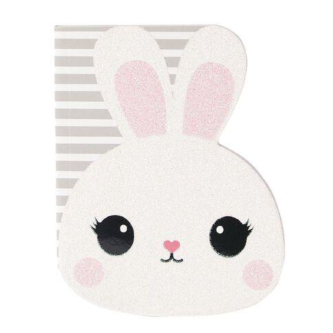 Kookie Novelty20 Shaped Notepad Bunny